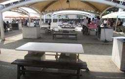 大蔵海岸公園 テーブル