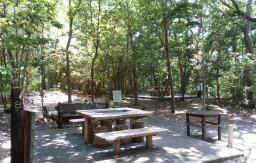三木山森林公園 BBQテーブル