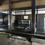 上大島キャンプ場 古民家内部