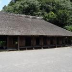 上大島キャンプ場 古民家園