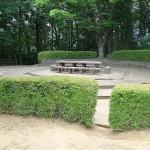 久保山公園 丘頂上のバーベーキューポイントこの場所は早い者勝ちです。