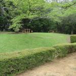 久保山公園 木陰のバーベキューポイント