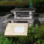 大塚公園 バーベキュー場テーブル