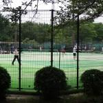 府中の森公園 テニス場