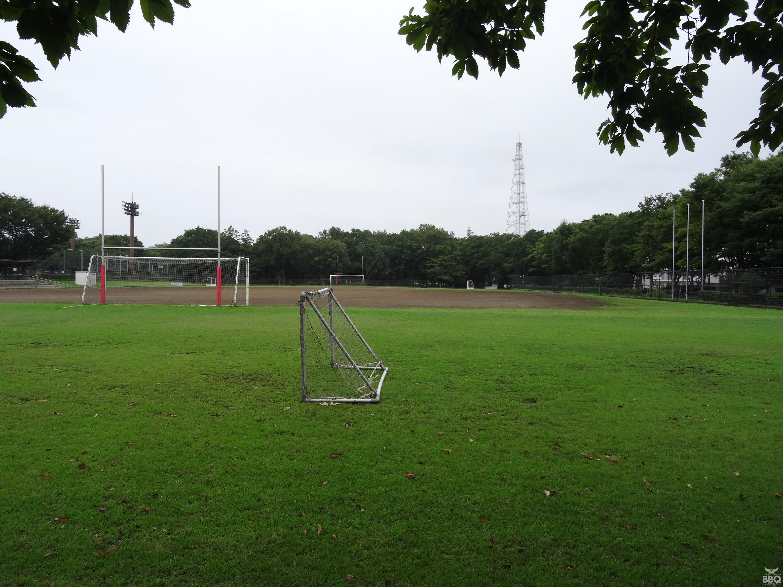 府中の森公園サッカー場 入口