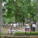 府中の森公園 バーベキュー場