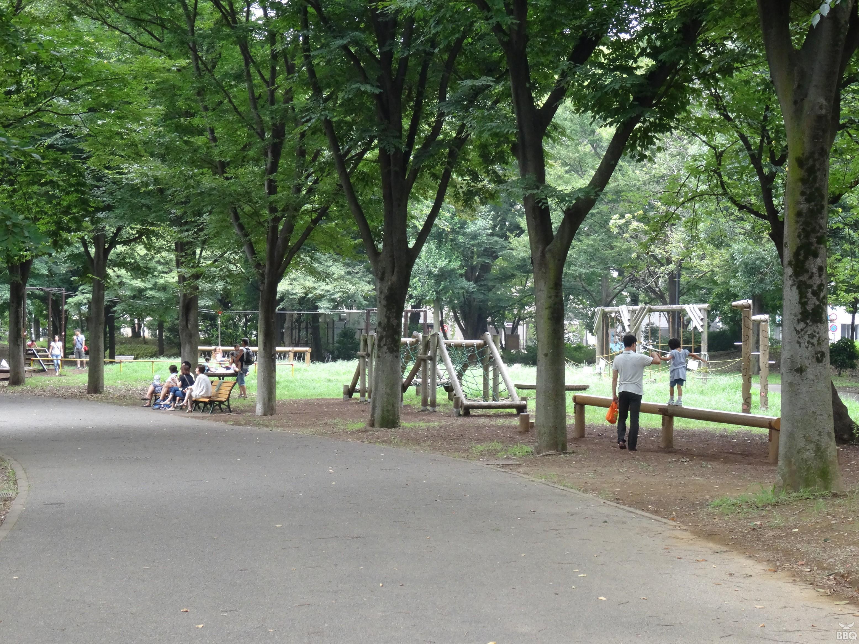 府中の森公園 遊具も豊富でお子様も大喜び