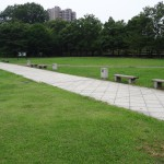 長池公園 北エントランスゾーン芝生広場