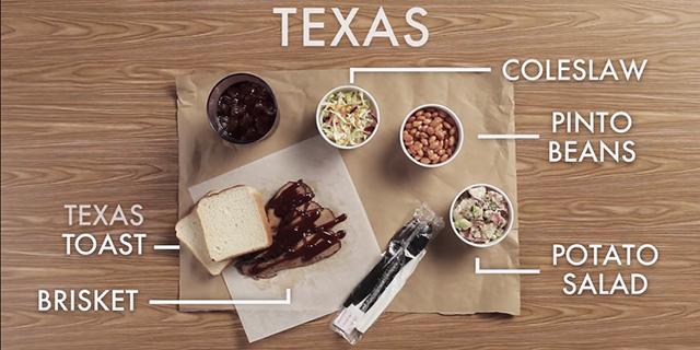 テキサスのBBQ
