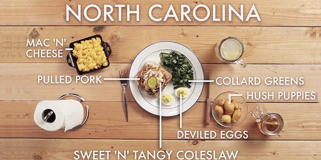 ノースカロライナのBBQ