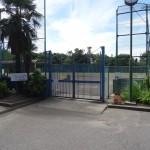 北野公園 野球場入口