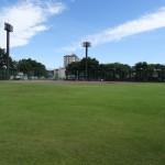 北野公園 野球場グラウンド内
