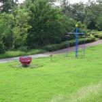 多摩川中央公園 遊具も充実