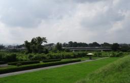 多摩川中央公園 見渡は抜群