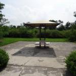 多摩川中央公園 ベンチ