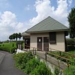 福生南公園 施設管理公園 入口すぐ近くに