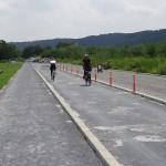 福生南公園 サイクリングロード