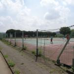 福生南公園 テニスコート