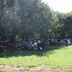 小金井公園 夏のBBQは大盛り上がり