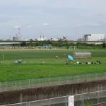 郷土の森公園 BBQ場横のサッカー場
