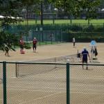 郷土の森公園 テニスコート