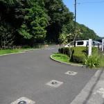 望地弁天キャンプ場 駐車場2
