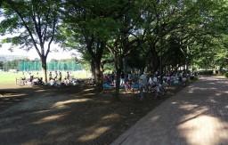 武蔵野中央公園 バーベキューエリア