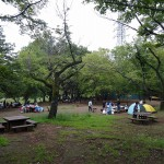 武蔵野公園 BBQ場