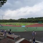 秋留台公園 広大な競技場