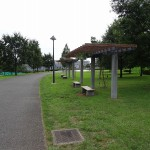 若葉台公園 公園内休憩ベンチ