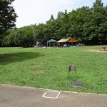 若葉台公園 バーベキュー可能な芝生広場④
