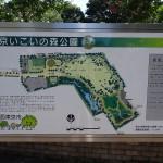 いこいの森公園 園内マップ