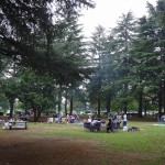 野川公園 バーベキュー場