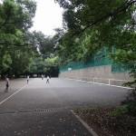 野川公園 壁打ちテニス
