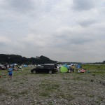 高田橋河川敷 デイキャンプ
