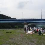 高田橋河川敷 バーベキュー