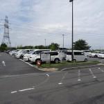 稲城北緑地公園 駐車場