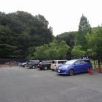 小山内裏公園 駐車場