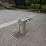 松木公園 水道