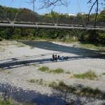youtube動画 釜の淵公園(東京都 青梅市)柳淵橋下の河川敷