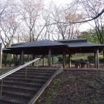 富士見台公園 史跡広場 あずまや