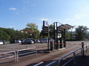 釜の淵公園 市民プール側駐車場