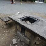鎌田公園 野外テーブル