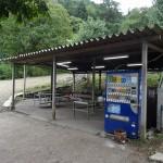 青根キャンプ場 炊事場