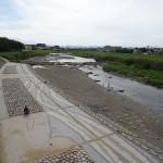 浅川河川敷