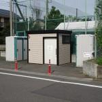 浅川河川敷 公園トイレ