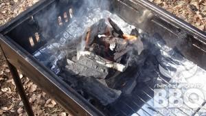 火を着ける