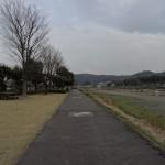 田代運動公園 堤防