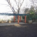 本門寺公園 展望台前広場