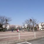 平和島公園 バスケットコート